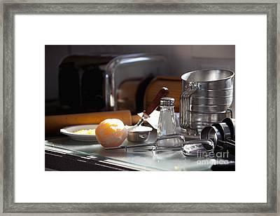 Baking Still Life Framed Print by Will & Deni McIntyre