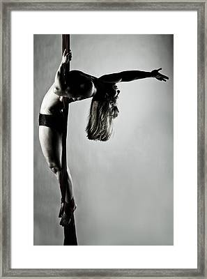 Balance Of Power 2012 Series 4 Framed Print by Monte Arnold