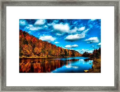 Bald Mountain Pond II Framed Print by David Patterson