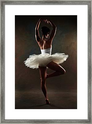 Ballerina Framed Print by Tonino Guzzo