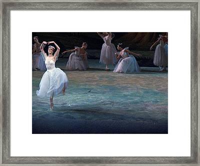 Ballerinas At The Vaganova Academy Framed Print by Richard Nowitz