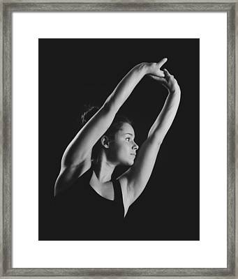 Ballet Dancer Framed Print by Marcio Faustino