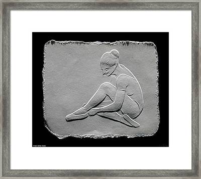 Ballet Dancer Framed Print by Suhas Tavkar