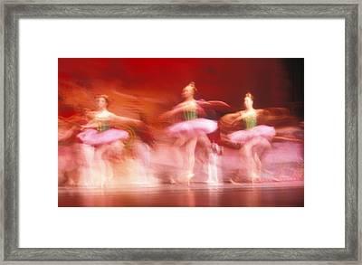 Ballet Dancers Framed Print by John Wong
