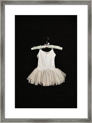 Ballet Dress Framed Print by Joana Kruse