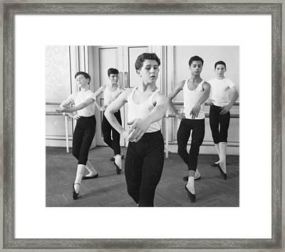 Ballet For Boys Framed Print by John Drysdale