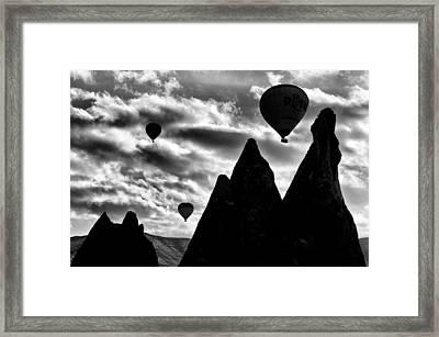 Ballons - 2 Framed Print by Okan YILMAZ