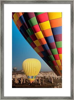 Ballons - 3 Framed Print by Okan YILMAZ