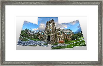 Banff -  Canada Place And Cascade Gallery Framed Print by Gregory Dyer