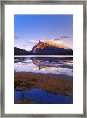 Banff National Park, Alberta, Canada Framed Print by Carson Ganci
