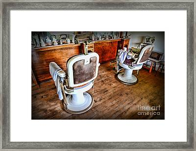 Barber - The Barber Shop 2 Framed Print by Paul Ward