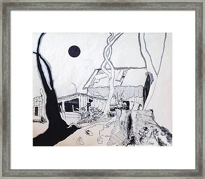 Barn 4 Framed Print by Rod Ismay