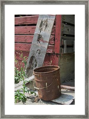 Barn And Barrel Framed Print by Todd Sherlock