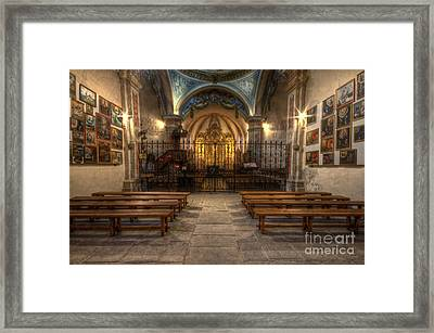 Baroque Church In Savoire France 4 Framed Print by Clare Bambers
