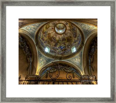 Baroque Church In Savoire France 5 Framed Print by Clare Bambers