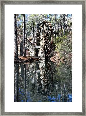 Barry College Mill Framed Print by Rick Mann