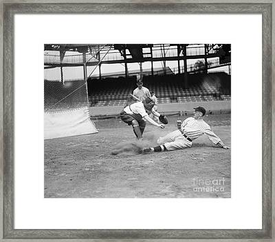 Baseball Game, C1915 Framed Print by Granger