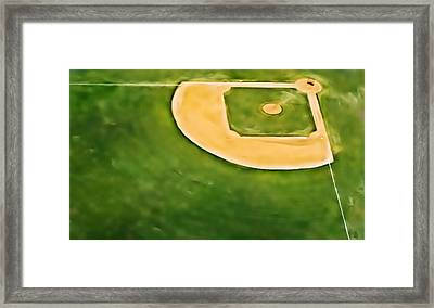 Baseball Framed Print by Patrick M Lynch