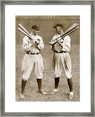 Baseball. Ty Cobb, Detroit Framed Print by Everett