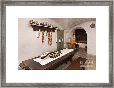 Basement Kitchen Framed Print by Jaak Nilson