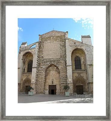 Basilica Of Saint Mary Madalene Framed Print by Lainie Wrightson