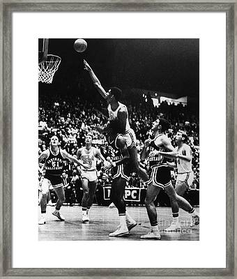 Basketball Game, 1966 Framed Print by Granger