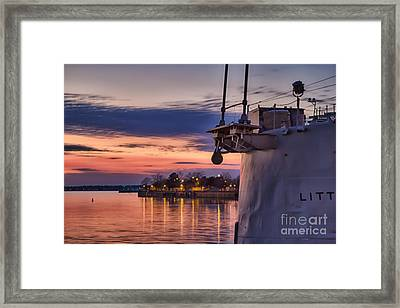 Basking Framed Print by Chuck Alaimo