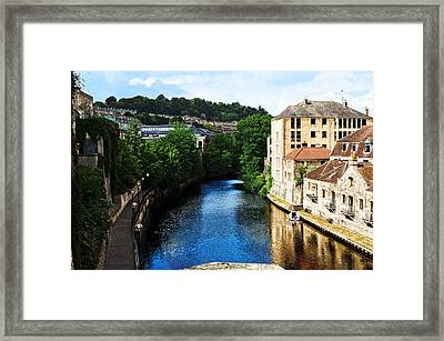 Bath Framed Print by MaryJane Armstrong
