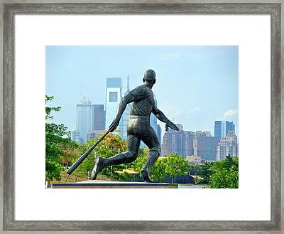 Batters City View Framed Print by Alice Gipson