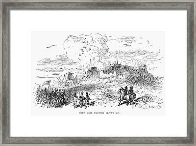 Battle Of Fort Erie, 1814 Framed Print by Granger