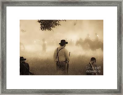 Battlefield Framed Print by Kim Henderson