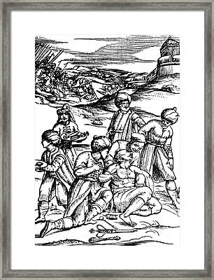 Battlefield Medicine, 16th Century Framed Print by Science Source