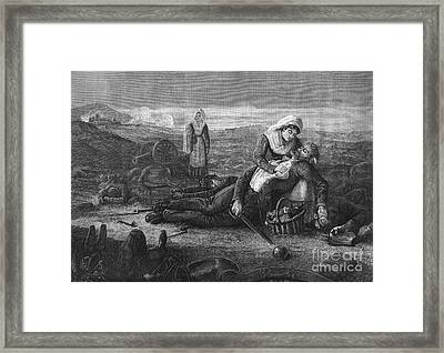 Battlefield Medicine, 19th Century Framed Print by Science Source