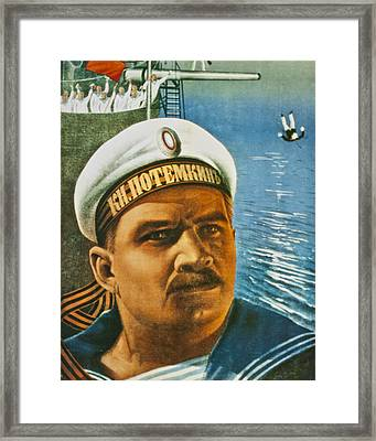 Battleship Potemkin Framed Print by Georgia Fowler
