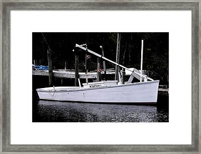 Bay Clammer Framed Print by Kevin Brant