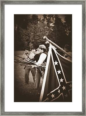 Bayonet Charge Framed Print by Jonathan Bateman