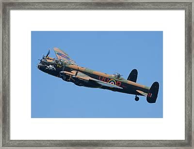 Bbmf Lancaster Bomber 2 Framed Print by Ken Brannen