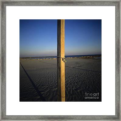 Beach Framed Print by Bernard Jaubert