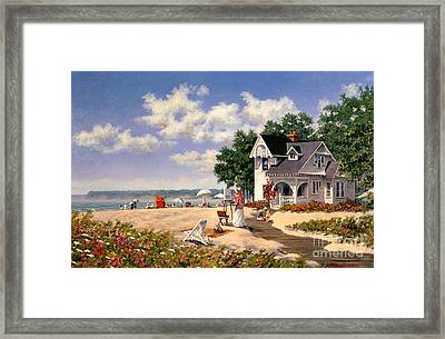 Beach Days Framed Print by Michael Swanson