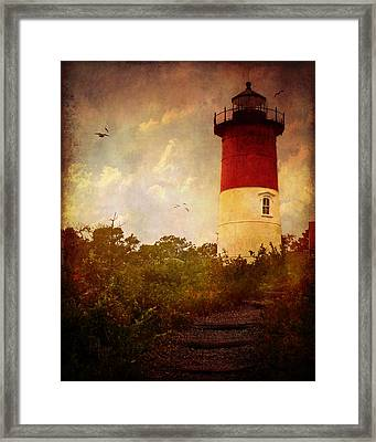 Beacon Of Hope Framed Print by Lianne Schneider