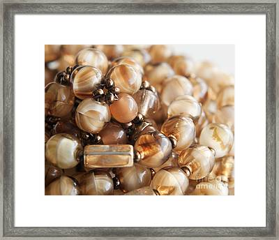Bead Necklace Framed Print by Blink Images
