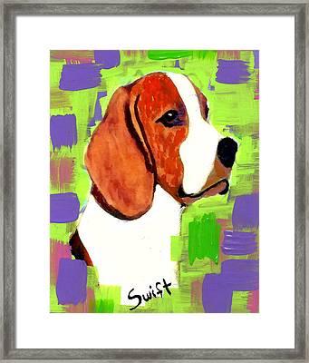 Beagle Framed Print by Char Swift