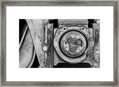 Bearing The Weight Framed Print by Donald Schwartz
