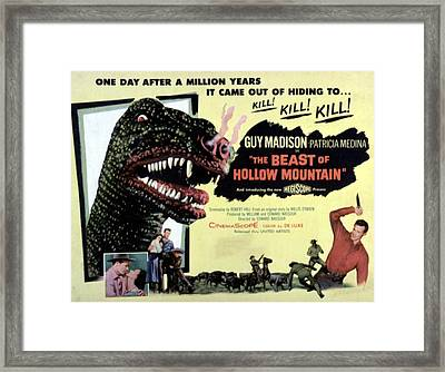 Beast Of Hollow Mountain, 1956 Framed Print by Everett