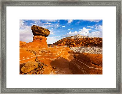 Beautiful Badlands Framed Print by James Marvin Phelps