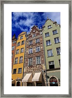 Beautiful Gdansk Framed Print by Sophie Vigneault