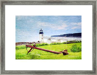 Beautiful Maine Framed Print by Darren Fisher