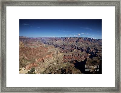 Beautiful Vista At Powell Point, Grand Framed Print by Terry Moore