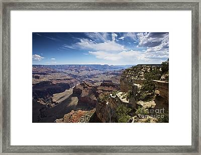 Beautiful Vista Of Grand Canyon Framed Print by Terry Moore