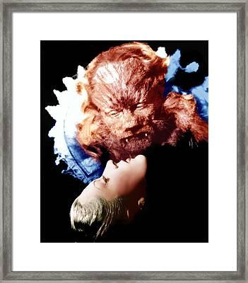 Beauty And The Beast, Aka La Belle Et Framed Print by Everett